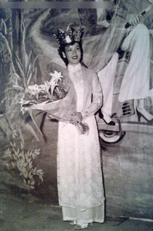 Phận đời thăng trầm của Hoa hậu Việt Nam đầu tiên: mồ côi mẹ, mang tiếng chửa hoang, trở thành nữ Tiến sĩ Sử học - Ảnh 5.
