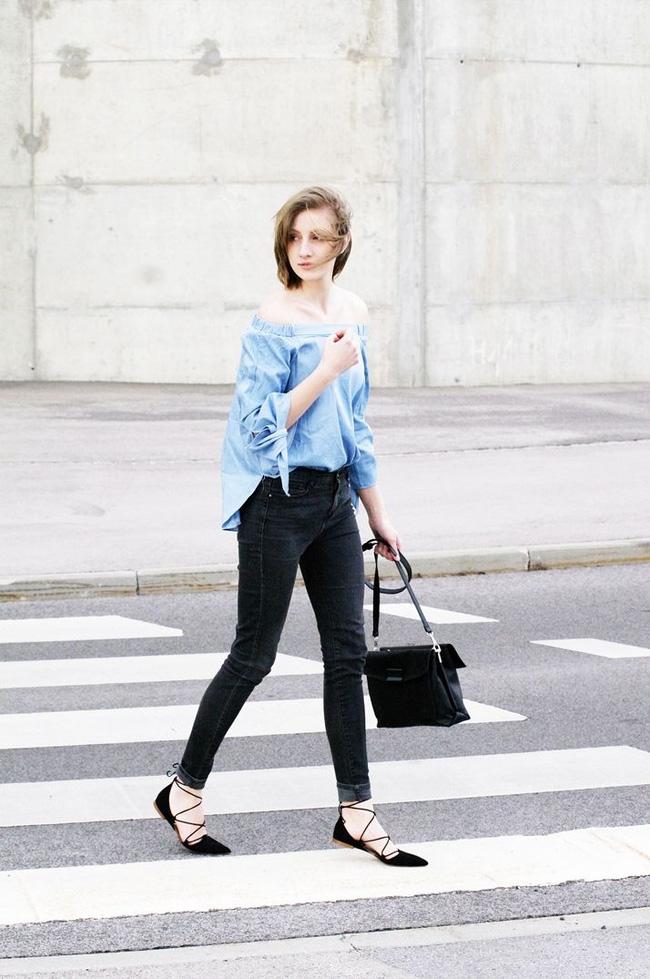 Đến quần jeans dáng sơ bản cũng có kiểu chuẩn xu hướng, kiểu không - Ảnh 13.