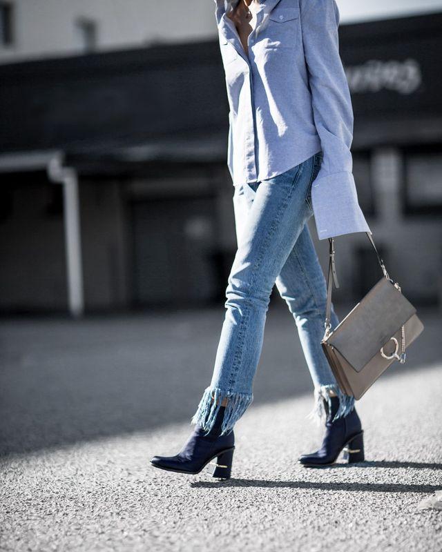 Những mẫu quần jeans sẽ làm mưa làm gió mùa Xuân/Hè 2017 này, bạn đã tìm hiểu chưa? - Ảnh 6.