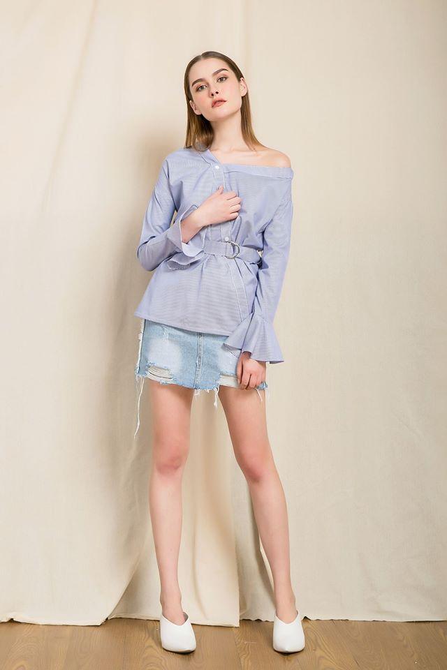 Nàng duyên dáng đừng bỏ qua loạt thiết kế váy-áo tay loe đến từ thương hiệu Việt này nhé! - Ảnh 7.