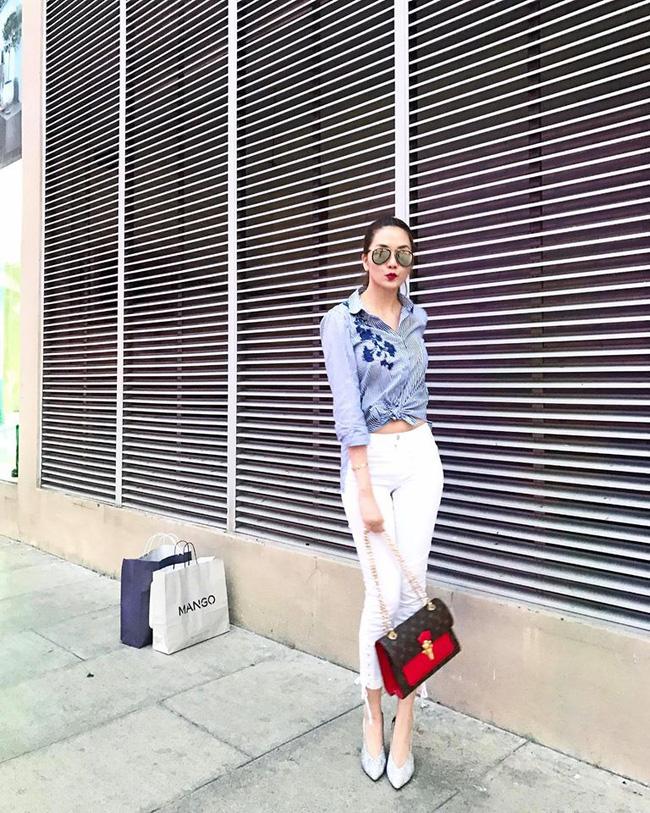 Điểm mặt 4 kiểu quần jeans đang được kiều nữ Việt kết nhất - Ảnh 23.