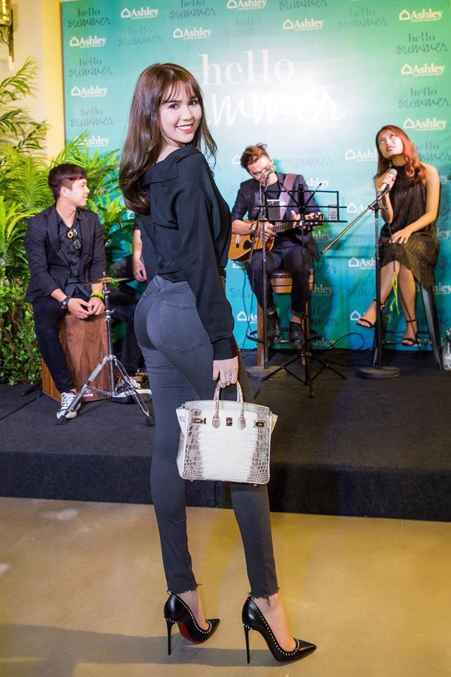 Những người đẹp Việt rất trung thành với một hãng túi hiệu - Ảnh 2.