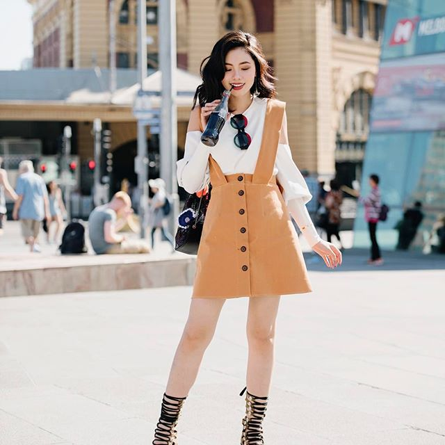 Street style quý cô châu Á: Diện đơn giản mà chất thế này thì nàng nào cũng muốn bắt chước theo - Ảnh 10.