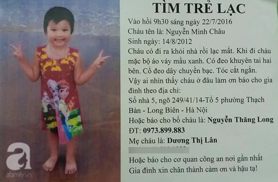Mẹ của bé gái 4 tuổi mất tích bí ẩn gần 1 năm ở Hà Nội: Tôi tin là con vẫn sống khỏe mạnh - Ảnh 5.