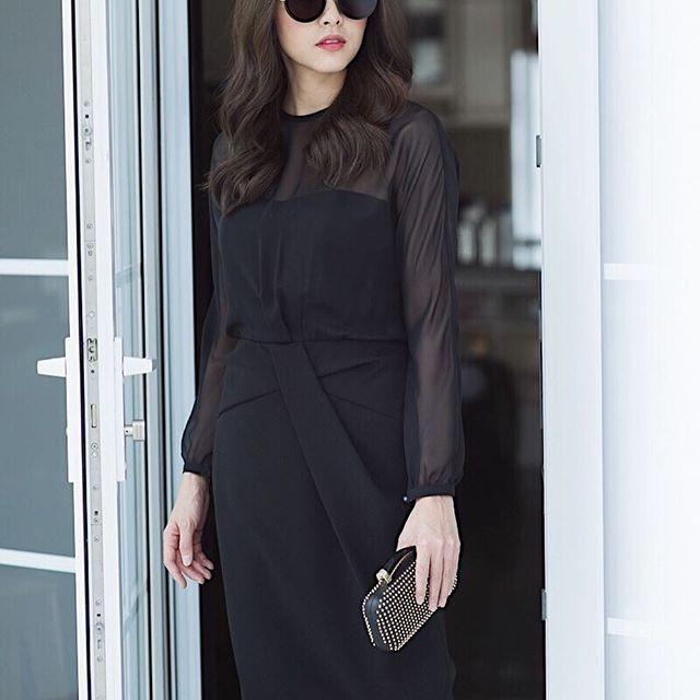 Cầu kỳ gì đâu, Tăng Thanh Hà chỉ cần diện đồ đen - trắng đơn giản thế này thôi cũng đẹp - Ảnh 11.