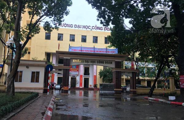 Hà Nội: ĐH Công Đoàn đóng cửa cổng trong giờ học để tránh... tai nạn giao thông - Ảnh 1.