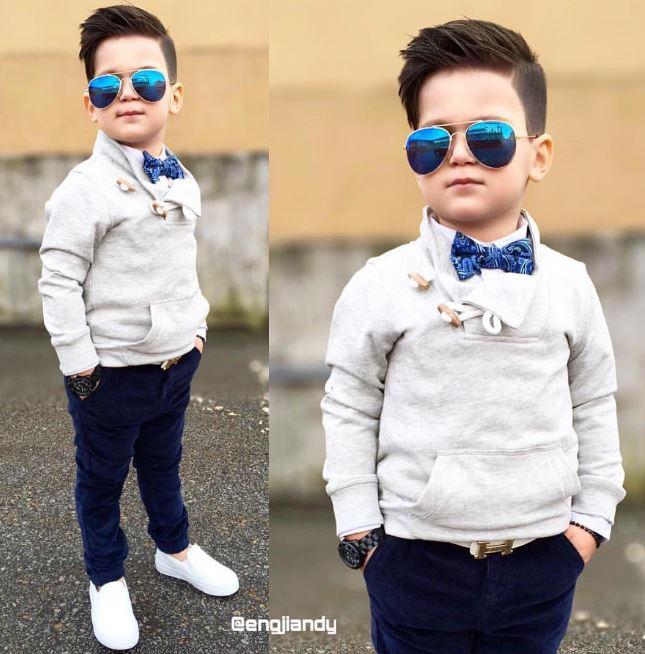 Tuyển tập những kiểu tóc đẹp cho bé trai giúp các mẹ thỏa thích biến con mình thành soái ca - Ảnh 7.