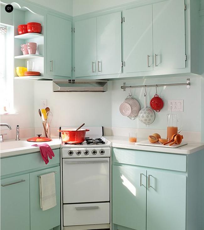 7 căn bếp nhỏ nhưng đẹp lung linh khiến ai nhìn cũng phải mê tít - Ảnh 1.
