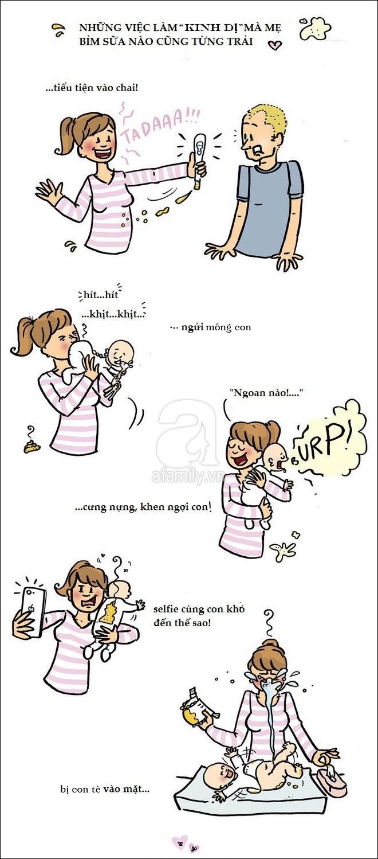 Bộ tranh hài hước phơi bày sự thật trần trụi của các bà mẹ khi mang thai và sau sinh - Ảnh 10.