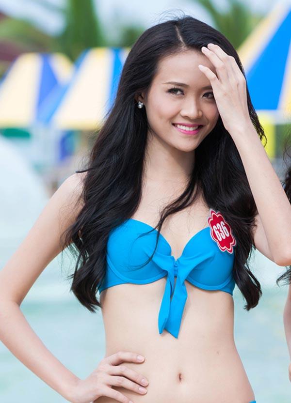 So bì vóc dáng của các thí sinh The Face khi khoe dáng với bikini - Ảnh 8.