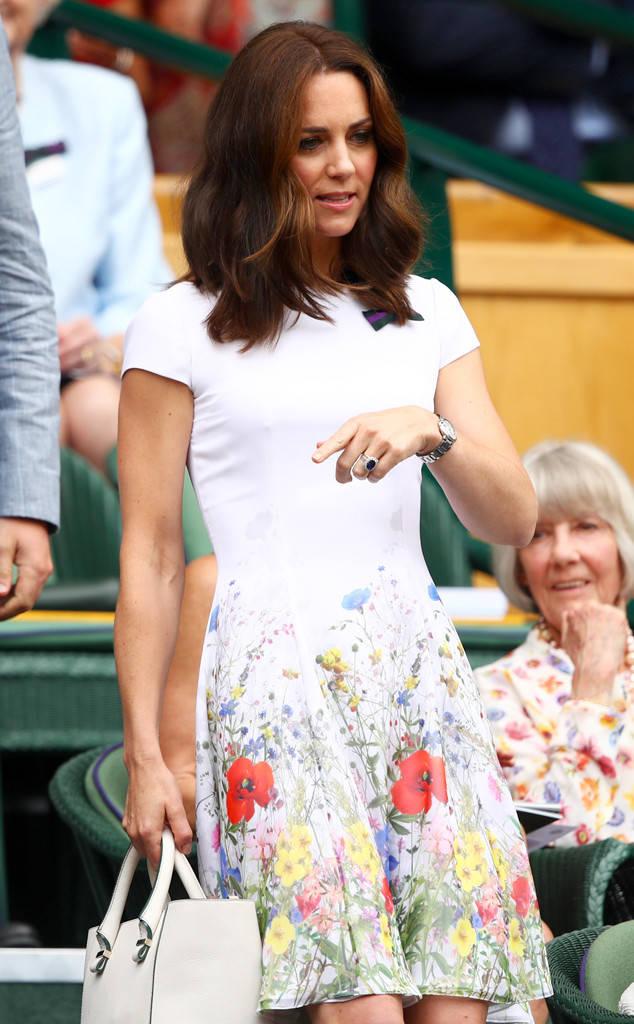 Suốt cả tháng 7, công nương Kate chỉ chuộng diện lại túi cũ từ năm ngoái - Ảnh 2.