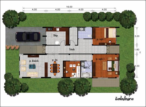 Chẳng cần cao tầng, 9 ngôi nhà 1 tầng này cũng đủ khiến bạn hài lòng về cả thiết kế lẫn công năng - Ảnh 1.