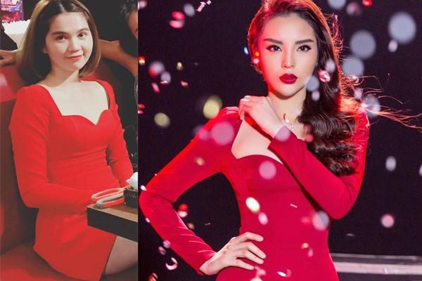 Năm 2017, Ngọc Trinh xứng đáng là Nữ hoàng váy nhái của showbiz Việt - Ảnh 6.