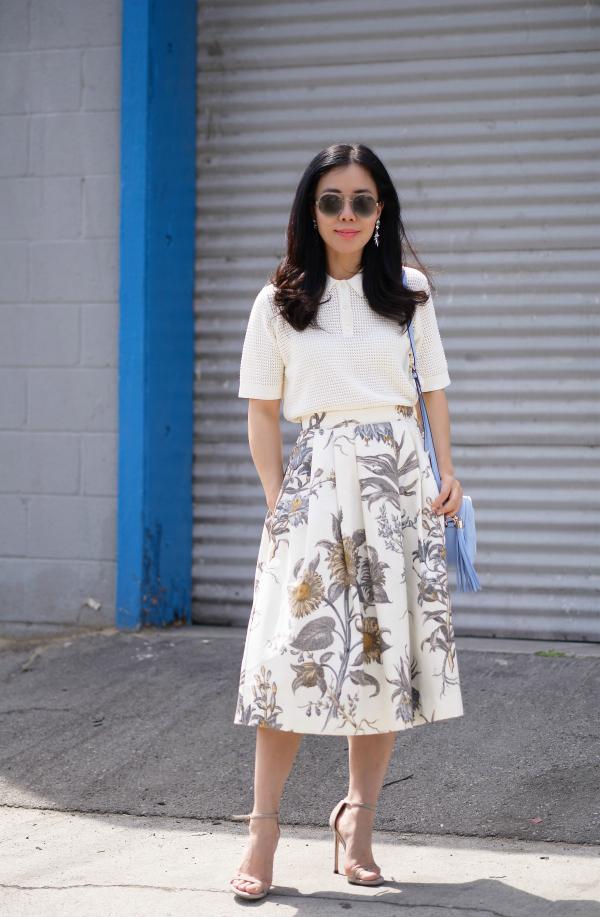 Đâu là chiếc áo diện cùng chân váy midi có thể nịnh dáng nhất - Ảnh 7.