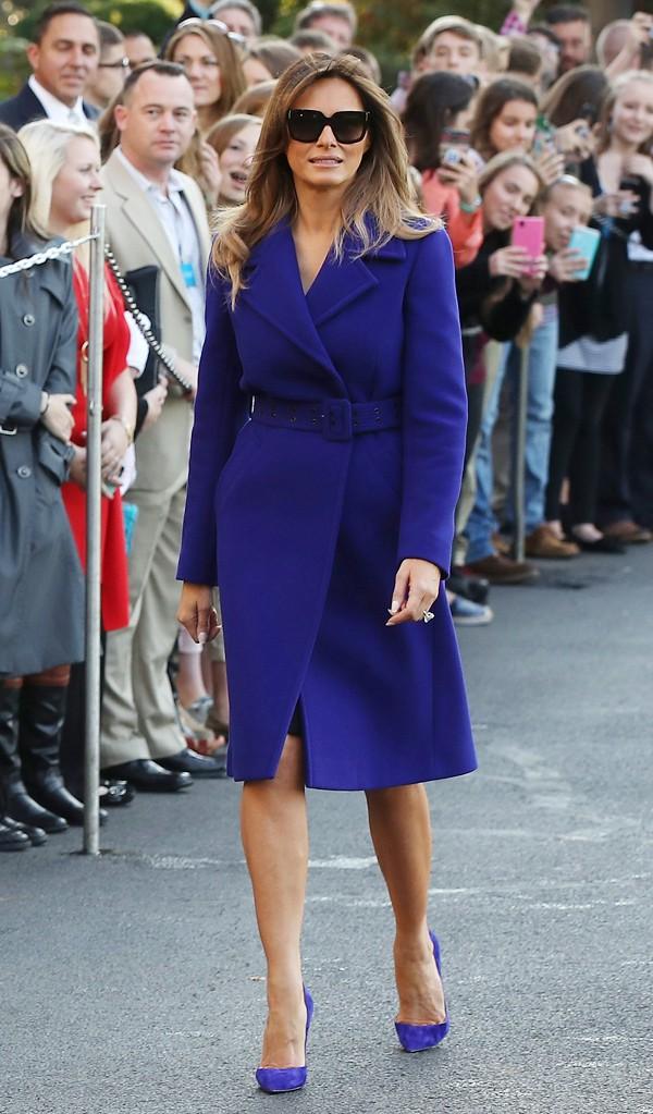 Phu nhân Melania Trump chịu chi hơn 1 tỷ cho váy áo trong chuyến công du 3 nước châu Á - Ảnh 9.
