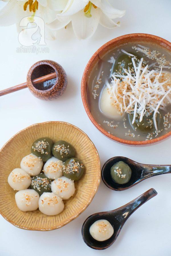 Có 10 công thức làm bánh trôi bánh chay ngon - đẹp - lạ này khỏi lo tết Hàn thực nhàm chán - Ảnh 4.