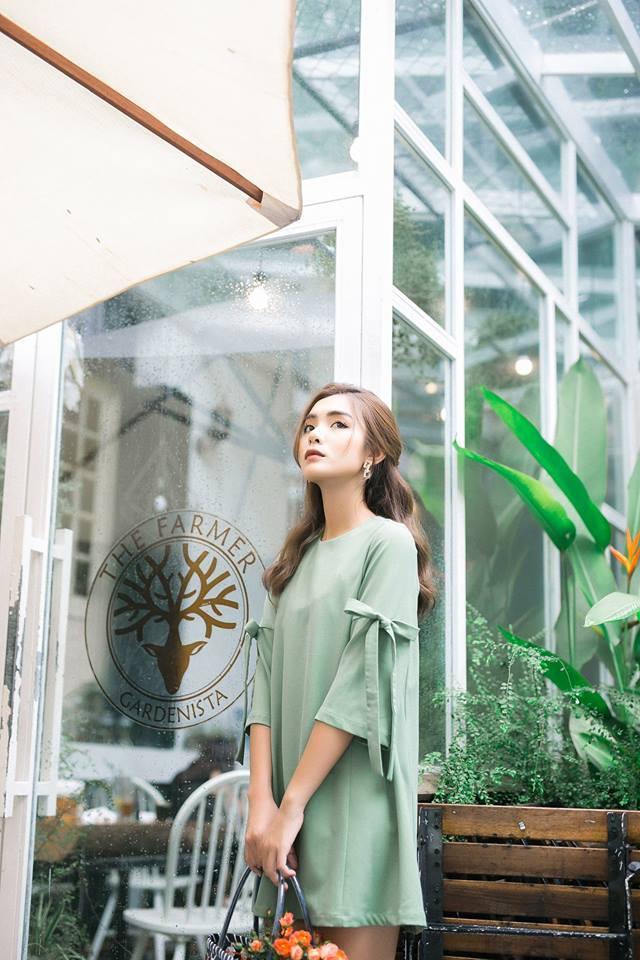 Đón thu ngọt ngào cùng những thiết kế váy liền tay lỡ mà giá chưa đến 700 ngàn đến từ các thương hiệu Việt - Ảnh 7.