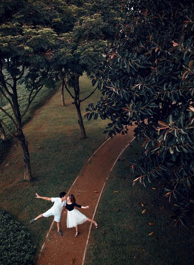 Mối lương duyên từ nút like dạo và chuyện yêu chơi, cưới thật của cặp đôi thích đùa - Ảnh 14.