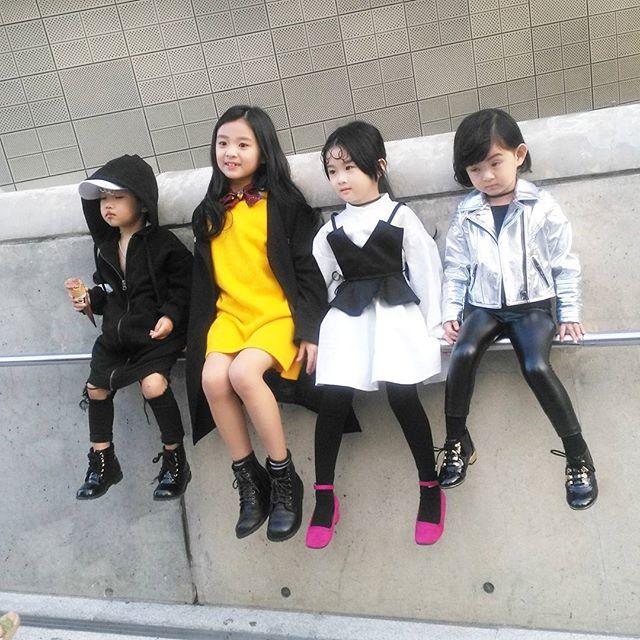 Đến tuần lễ thời trang Seoul, bạn sẽ chết mê với loạt street style chất lừ của các nhóc tì - Ảnh 2.