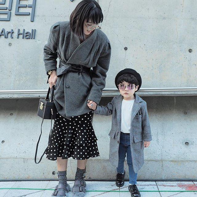 Đến tuần lễ thời trang Seoul, bạn sẽ chết mê với loạt street style chất lừ của các nhóc tì - Ảnh 11.