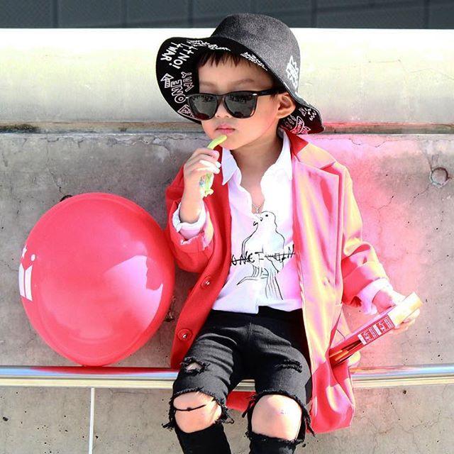 Đến tuần lễ thời trang Seoul, bạn sẽ chết mê với loạt street style chất lừ của các nhóc tì - Ảnh 5.