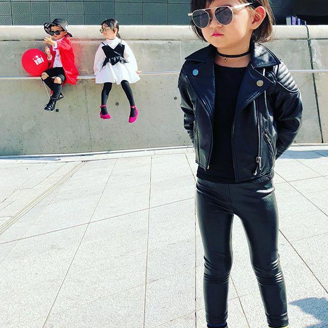 Đến tuần lễ thời trang Seoul, bạn sẽ chết mê với loạt street style chất lừ của các nhóc tì - Ảnh 9.