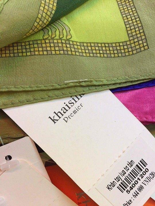 Khaisilk bán khăn lụa Trung Quốc: Có thể bị xử phạt vì hành vi buôn hàng giả - Ảnh 6.