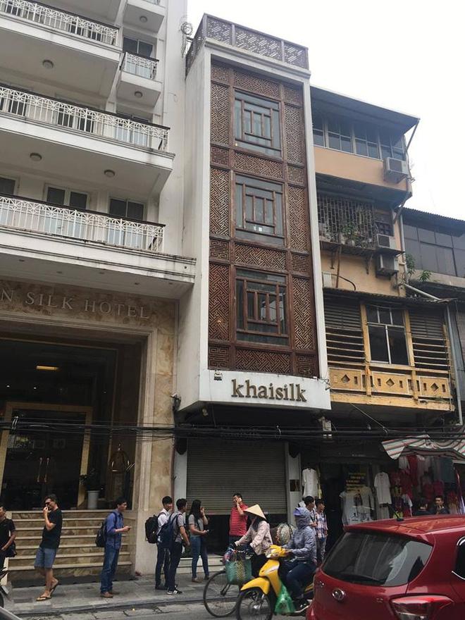 Vụ Khaisilk bán lụa Made in China: Tới chiều tối, toàn bộ cửa hàng ở Sài Gòn và Hà Nội đã đóng cửa hoàn toàn - Ảnh 6.