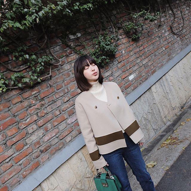 Muốn diện áo khoác kẻ thật đẹp, ắt hẳn bạn phải nghía qua street style Châu Á tuần này rồi - Ảnh 15.
