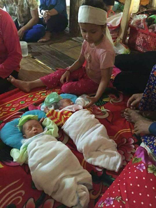 Yên Bái: Xót xa cảnh đời hai bé sinh đôi được 8 ngày tuổi thì mẹ đổ bệnh và qua đời - Ảnh 1.