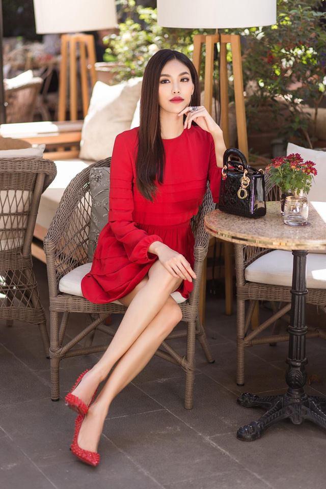 Khởi động mùa lễ hội qua những gợi ý sắc màu đến từ các người đẹp Việt - Ảnh 9.