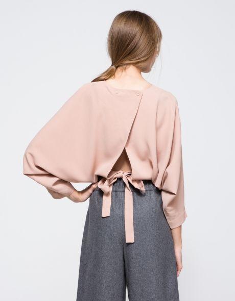Nơ nhỏ xinh thắt dọc lưng áo đang là mốt khiến phái đẹp phải xiêu lòng - Ảnh 12.