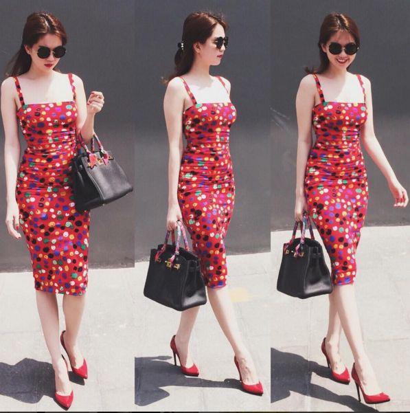 Ngọc Trinh - Linh Chi: chị em thân đến nỗi còn thường xuyên mặc váy áo của nhau - Ảnh 10.