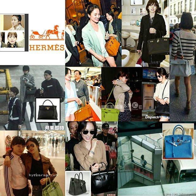 Diện đồ đơn giản, nhưng hoá ra Song Hye Kyo lại sở hữu BST túi Hermes tiền tỉ khiến nhiều người ghen tị  - Ảnh 4.