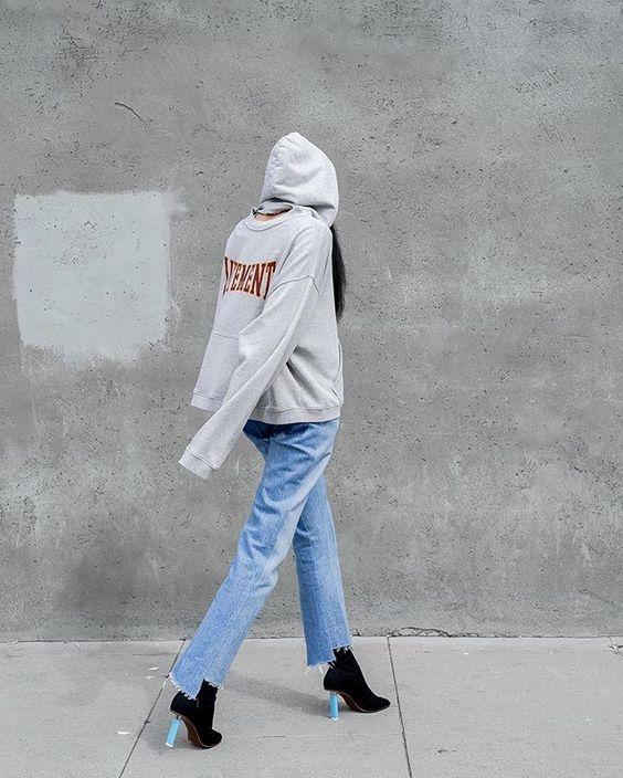 Chính ra áo nỉ hoodie cũng thời thượng, phong cách lắm chứ chẳng nghịch ngợm như ta vẫn tưởng - Ảnh 25.