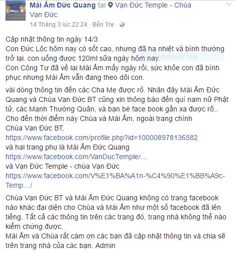 Hình ảnh và tình trạng hiện tại của bé bị não úng thủy Phạm Đức Lộc sau khi trở về từ Singapore - Ảnh 2.