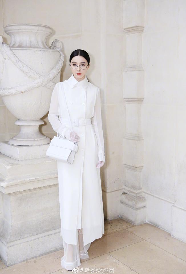 Phạm Băng Băng đẹp xuất sắc trong loạt ảnh không qua chỉnh sửa tại Paris Fashion Week - Ảnh 3.