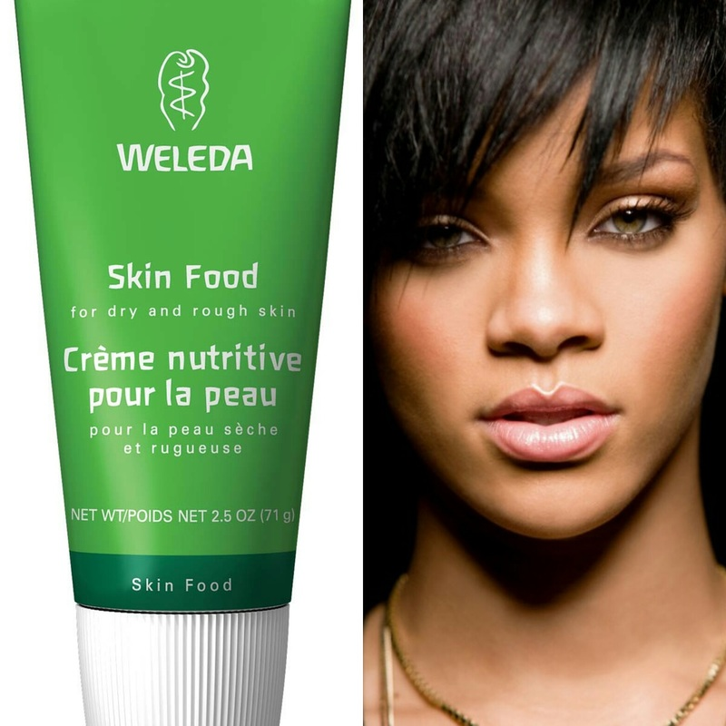 weleda skin food celebrities