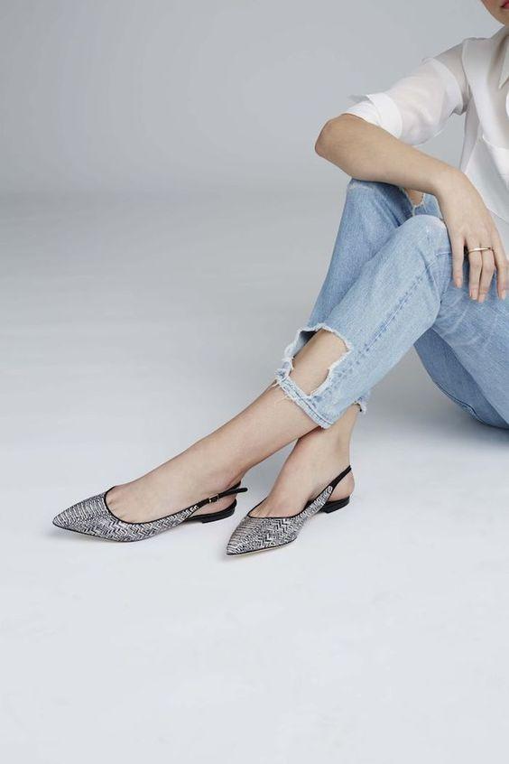 Những mẫu giày bệt thoải mái cho ngày nàng công sở quá mệt mỏi vì giày cao gót - Ảnh 10.