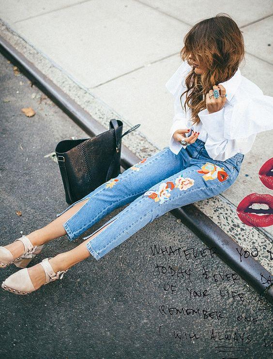 Những mẫu quần jeans sẽ làm mưa làm gió mùa Xuân/Hè 2017 này, bạn đã tìm hiểu chưa? - Ảnh 9.