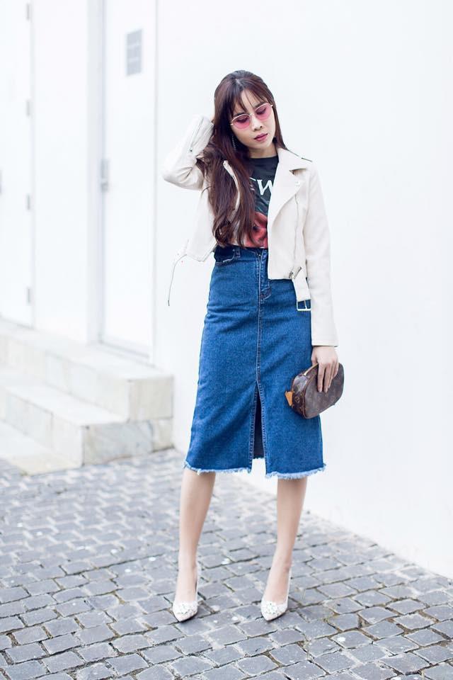 Mặc đúng 1 chiếc quần nhưng lại mix được 3 bộ khác nhau, Kỳ Duyên đúng là nổi nhất street style tuần này - Ảnh 14.