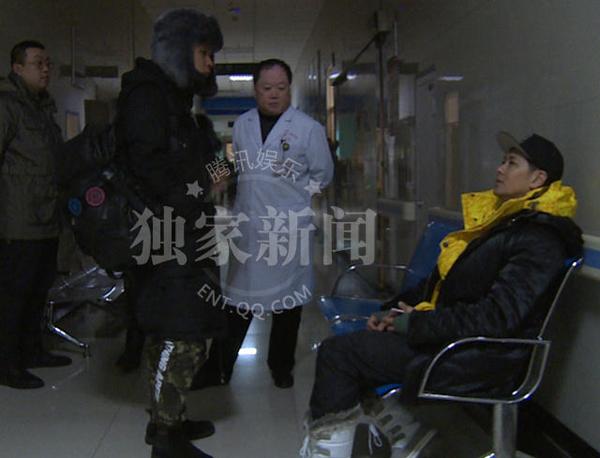 Lâm Chí Dĩnh nhập viện vì tai nạn trên sân băng - Ảnh 5.