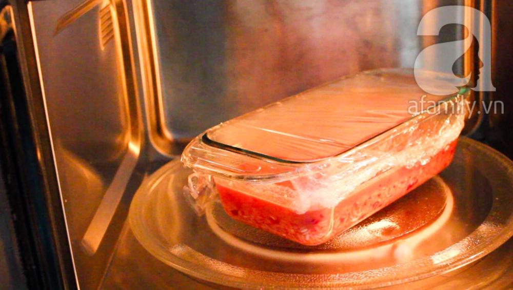 Nấu xôi gấc siêu tốc trong 15 phút cho các mẹ bận rộn ảnh 4
