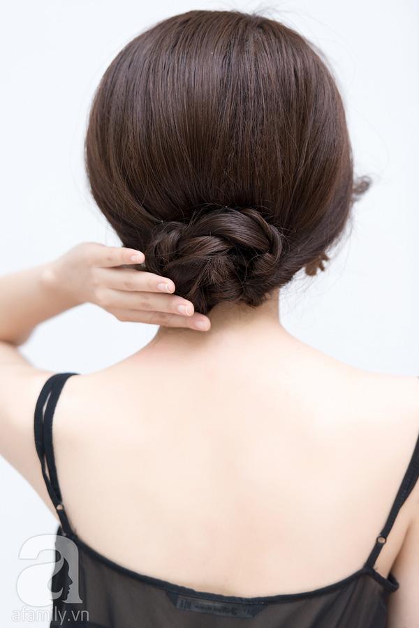 4 kiểu tóc đẹp duyên dành cho nàng tóc dài chán để tóc xoã - Ảnh 17.
