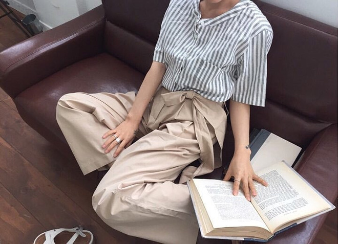Cứ tưởng là già, nhưng năm nay vải thô đũi lại được khoác áo mới với loạt thiết kế cực trẻ - Ảnh 16.