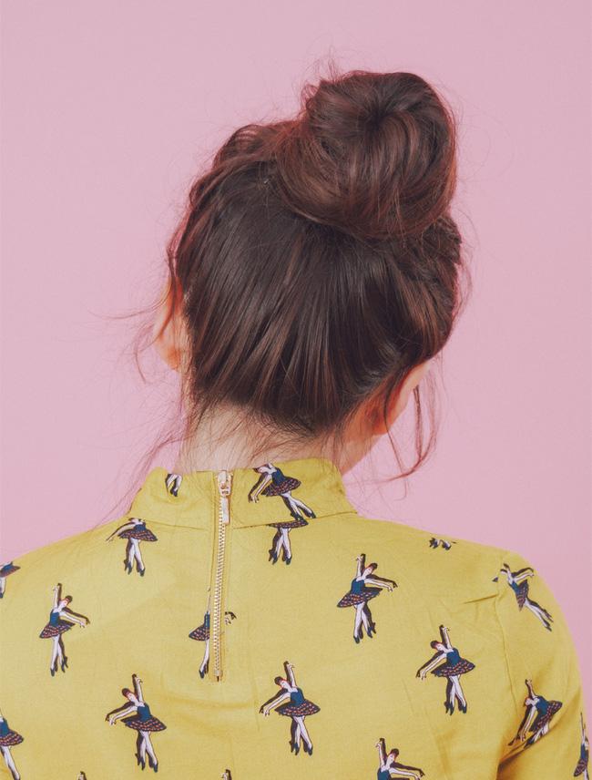 4 kiểu tóc đẹp duyên dành cho nàng tóc dài chán để tóc xoã - Ảnh 20.