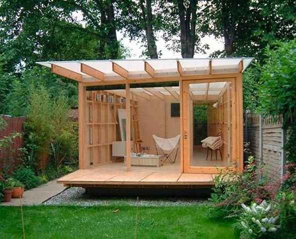 Những ngôi nhà nhỏ trong vườn khiến bạn như được lạc vào thế giới cổ tích - Ảnh 15.