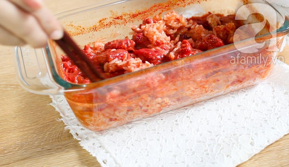 Nấu xôi gấc siêu tốc trong 15 phút cho các mẹ bận rộn - Ảnh 5