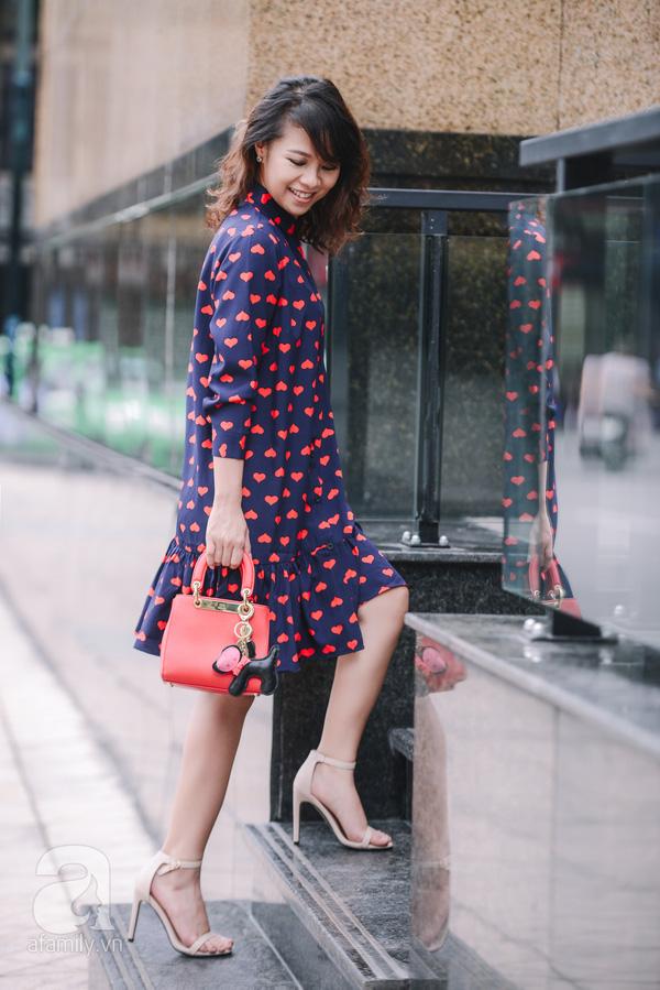 Tết này có trót tăng cân thì cũng chẳng lo lộ dáng với những thiết kế váy áo này - Ảnh 17.