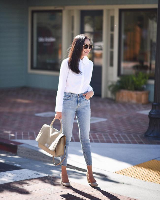5 kiểu áo hè cứ diện cùng jeans/legging là chỉ có đẹp trở lên - Ảnh 10.